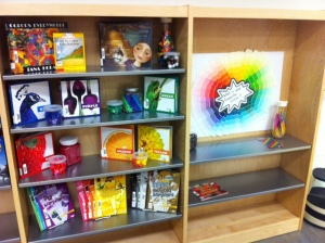 Our artists will love this colourful display.