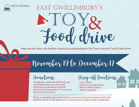 Toy and Food Drive 2018